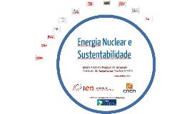 A Energia Nuclear é Sustentável?