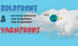 Koldfront, varmfront og det globale vindsystem