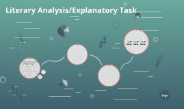 Literary Analysis/Explanatory Task