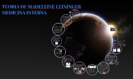 TEORIA DE MADELEINE LEININGER