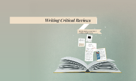 Writing Critical Reviews