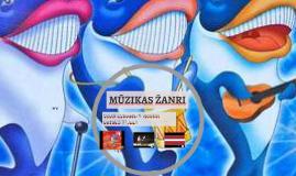 Copy of MŪZIKAS ŽANRI