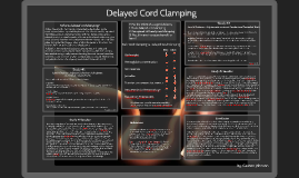 Delayed Cord Clamping - Evidence Based Practice