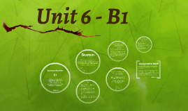 Unit 6 - B1