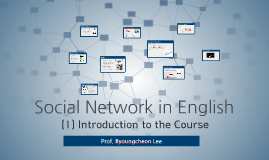 Social Network in English - 1