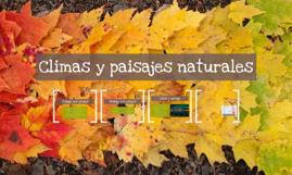 Climas y paisajes naturales