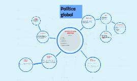 Política en un mundo globalizado