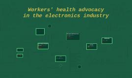 Electronics advocacy mapping