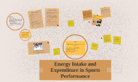 Copy of Energy Intake and Expenditure in Sport Performance