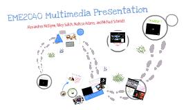 EME2040 Multimedia Presentation