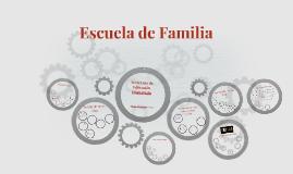 Escuela de Familia