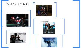 Real Steel Robots