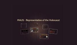 MAUS - Representation of the Holocaust