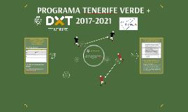PROGRAMA TENERIFE VERDE + 2017-2021