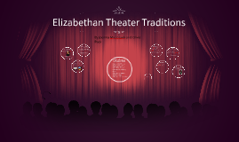 Elizabethan Theater Traditions