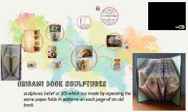 Paper Arts; modified book sculptures