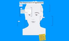The Importance of Appearance