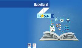 Copy of Promoció BATXILLERAT a ESO