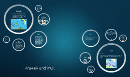 Arawak and Inuit