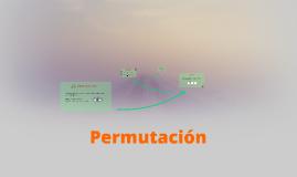 Permutación