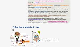 Programa Ciências Naturais 9.ºano
