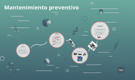 Copy of Mantenimiento preventivo