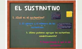 Copy of El sustantivo - 1º ESO