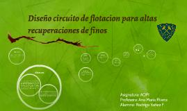 Diseño circuitos de flotacion para altas recuperaciones de finos