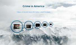 Crime in America