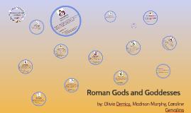 Copy of Roman gods and goddesses