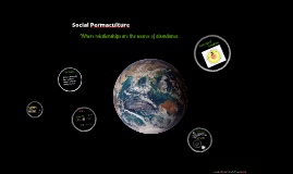Copy of Social Permaculture