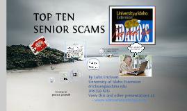 Copy of Top 10 Senior Scams