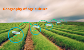 Geography of Agriculture (Part 1)
