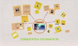 Copy of Copy of Copy of CONOCIMIENTO Y CORRIENTES FILOSOFICAS