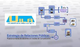 Estrategia de Relaciones Públicas