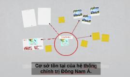 Cơ sở tồn tại của hệ thống chính trị Đông Nam Á.