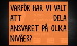 Maktdelning i Sverige