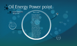 Oil Power point