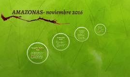 AMAZONAS- noviembre 2016