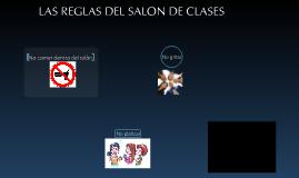 Copy of LAS REGLAS DEL SALON DE CLASES
