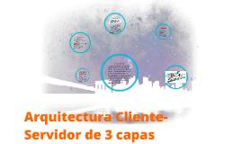 Copy of Arquitectura Cliente-Servidor de 3 capas