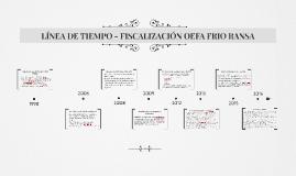 LÍNEA DE TIEMPO - FISCALIZACIÓN OEFA