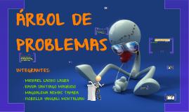 Arbol de Problemas_Michael Lacho Laura