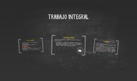 TRABAJO INTEGRAL