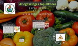 Copy of Az egészséges táplálkozás