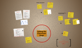 Setting the Classroom Stage