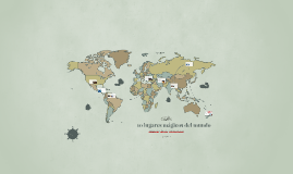 10 lugares mágicos del mundo