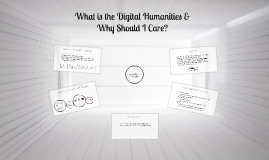 What is the Digital Humanities and Why Should I Care?