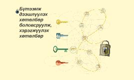 Copy of Бүтээмж дээшлүүлэх хөтөлбөр  боловсруулж, хэрэгжүүлэх хөтөлб