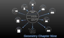 Geometry Chapter Nine